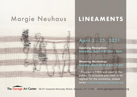 Lineaments Exhibition at the Garage Art Center