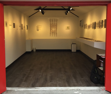 Tour of solo show Lineaments on view at The Garage Art Center in Queens, NY